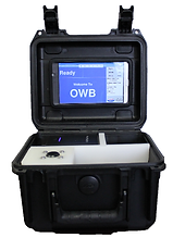Portable produced water oil measurement