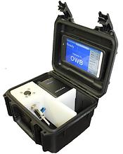 Handheld produced water sensor