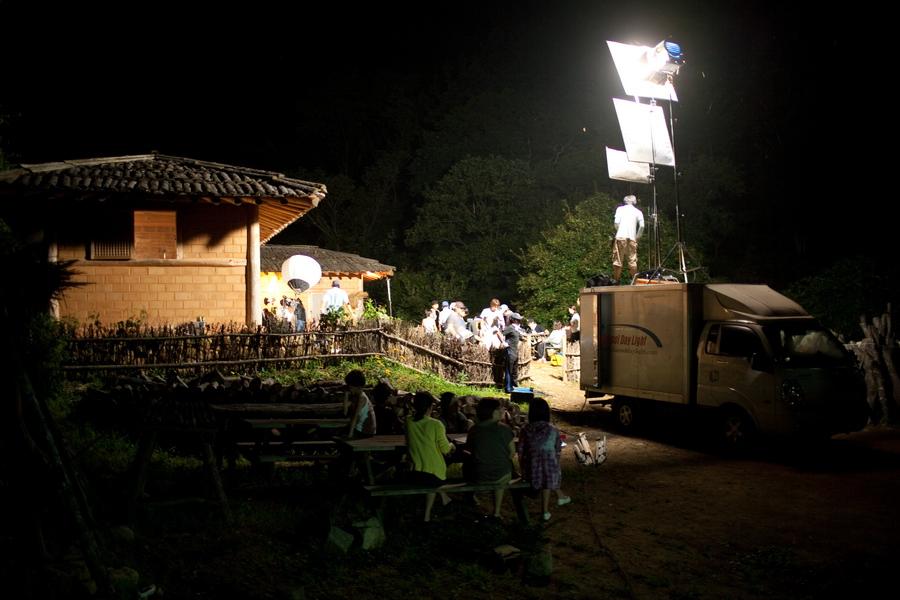 야간 촬영
