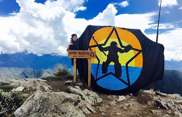 Top of Machu Picchu