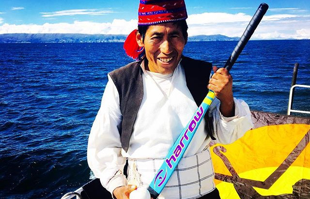 Boat Hockey:  Lake Titicaca