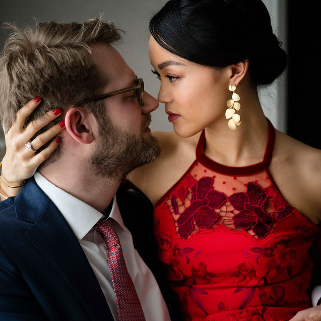"Joyce and Philipp's Wedding Day at Tamarind hill ""Small Wedding"""