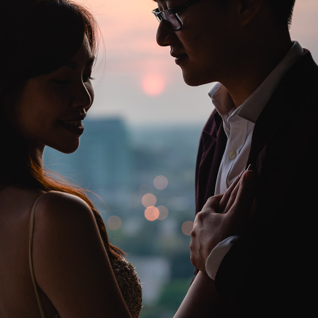 """JH and Chiang's Engagement at Tamarind""""LongDistance Love"""""""