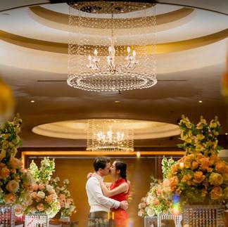 "Louise + Jonathan's Actual Day Wedding Photos ""A romantic night"""