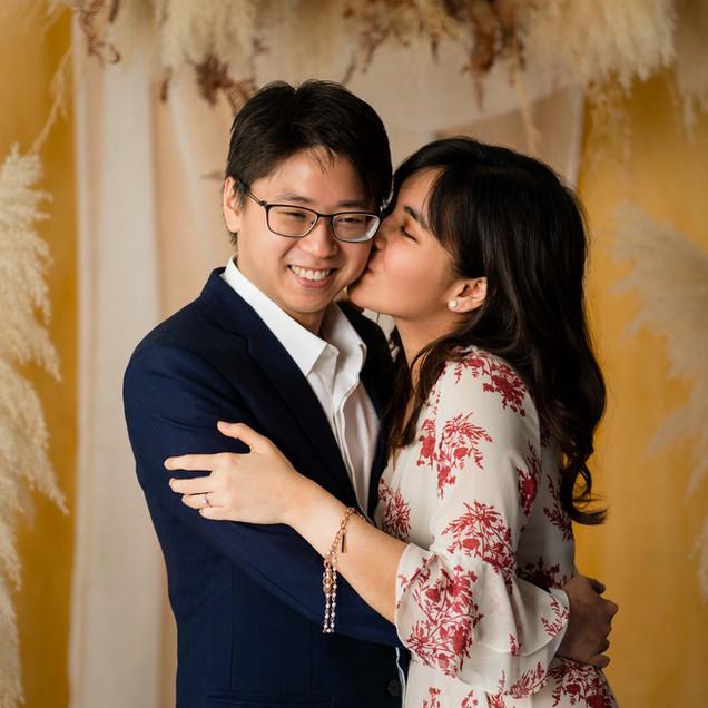 Eugene and Sherilyn's Engagement