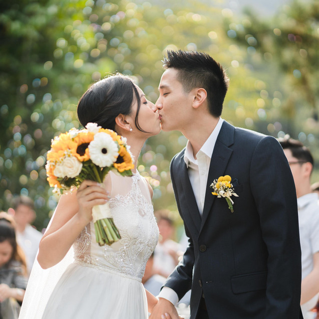 "Aaron + Ada's wedding highlight ""My Love, My Light, My Home"""