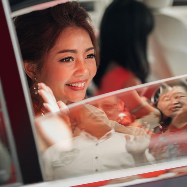 "Bibi + Hanson's Actual Day Wedding Photos ""The Persistence of Love"""
