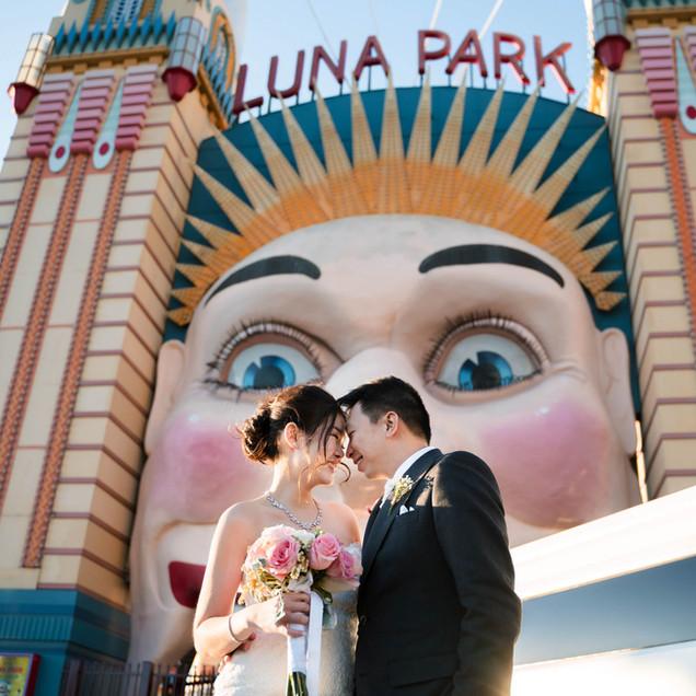 "Ashton + Caroline's Wedding Day in Sydney ""Love is a Ferris Wheel"""