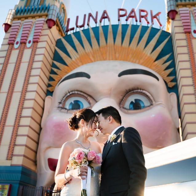 "Ashton and Caroline Wedding Highlight ""Love is a Ferris Wheel"""