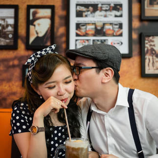 Fatima + Gary's Engagement at A&W restaurant