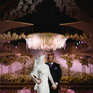 """Adrianna and Prakash's Actual Wedding Day in Sauajana KL""""Love is tangible"""""""