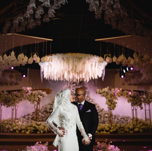 "Adrianna + Prakash's Actual Wedding Day in Sauajana KL""Love is tangible"""