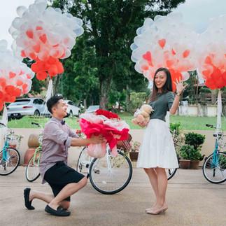 """Max + Mun's Proposal """"Eyes of Love"""""""