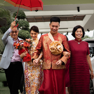 """Hong and Yuong's Wedding Day """"Go the distance"""""""