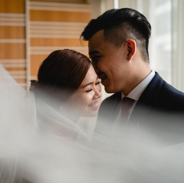 "Ann and Yang's Wedding Day ""Sensitive"""