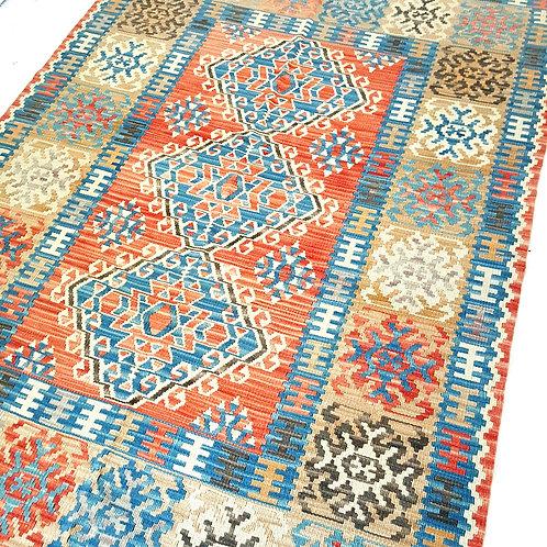 Handmade Turkish Anatolian Kilim Rugs - K1250007