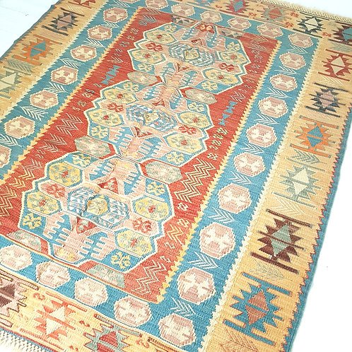 Handmade Turkish Anatolian Kilim Rugs - K1250008