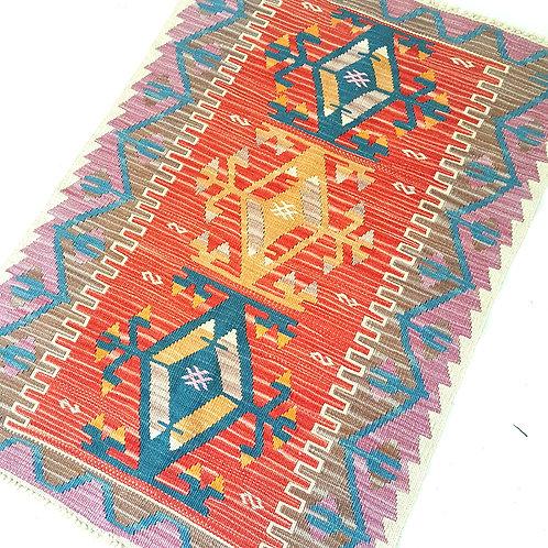 Handmade Turkish Anatolian Kilim Rugs -C400007