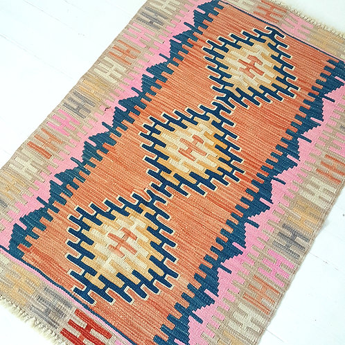 Handmade Turkish Anatolian Kilim Rugs -C400002