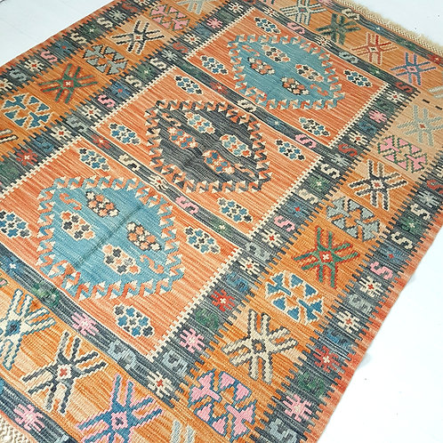 Handmade Turkish Anatolian Kilim Rugs - K1250002