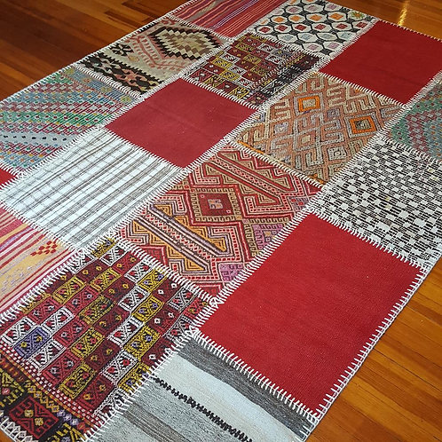 Handmade Turkish Patcwork Rugs -PV538