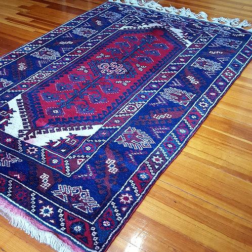 Vintage Turkish Antalya Dosemealti Rugs TVAR9191908