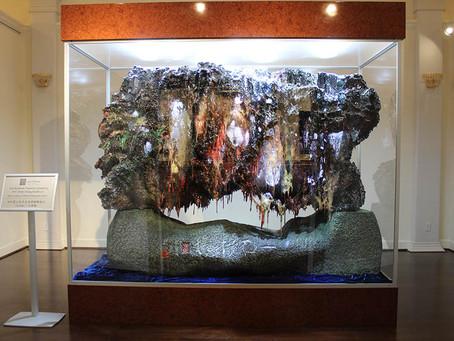 """人類歷史中首創無法複製的藝術珍品韻雕之皇""""一石橫嬌""""世界首展"""