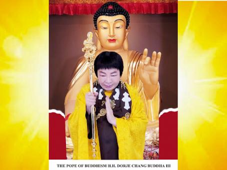 世界佛教教皇-南無第三世多杰羌佛 實至名歸