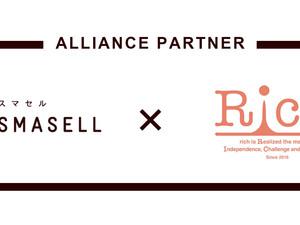サスティナブルアウトレットモール「SMASELL」と、在宅物販スクール「Rich」を運営する株式会社Meroneが業務提携