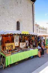 Le marché de Saillans