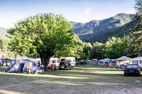Le camping bien rempli !