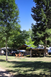 La tente lodge Echirou à la location