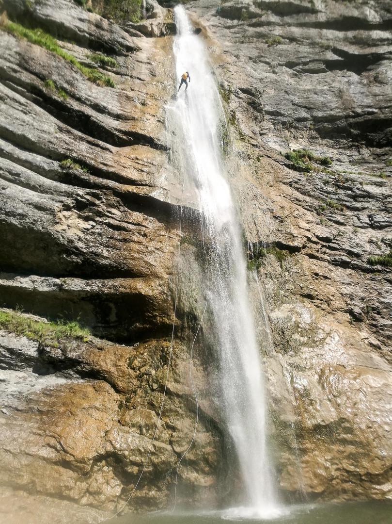 Canyoning - Les Écouges - Vercors