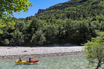 Descente en douceur sur la Drôme