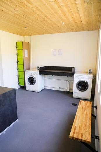 L'espace laverie