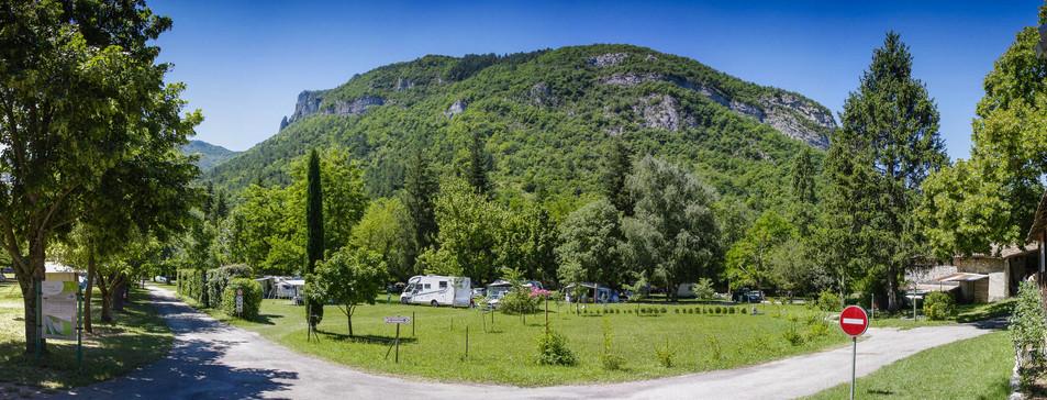 Le camping, au coeur des montagnes