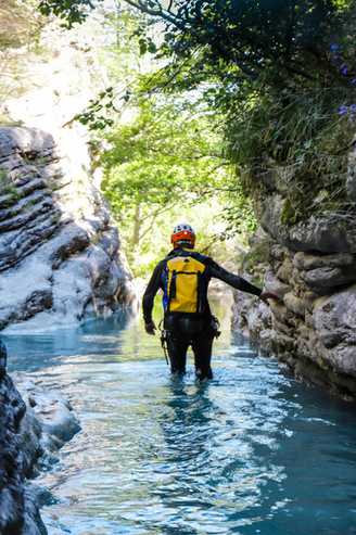 Canyoning - Vallée de la Roanne