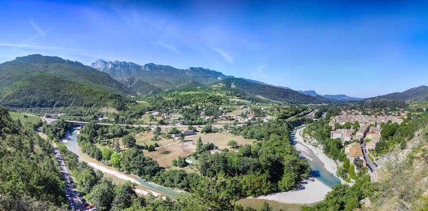 La rivière Drôme - Saillans