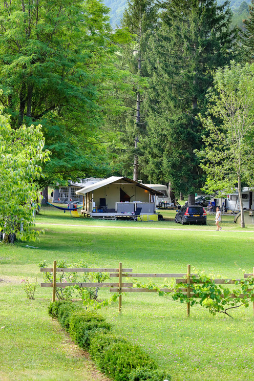 L'Échirou au cœur du camping