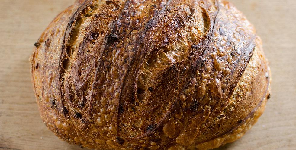 Organic Sour Dough Malt Loaf