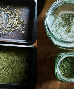 Dried Celery Herb and Celery Salt