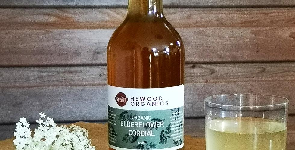 Organic Elderflower Cordial (500ml)