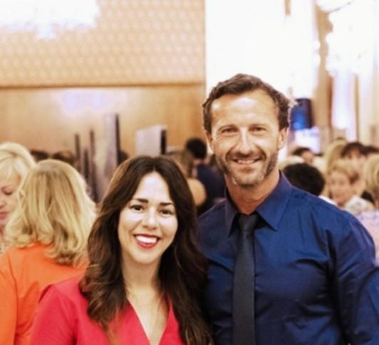 Luciana Brito y Juan Beteta