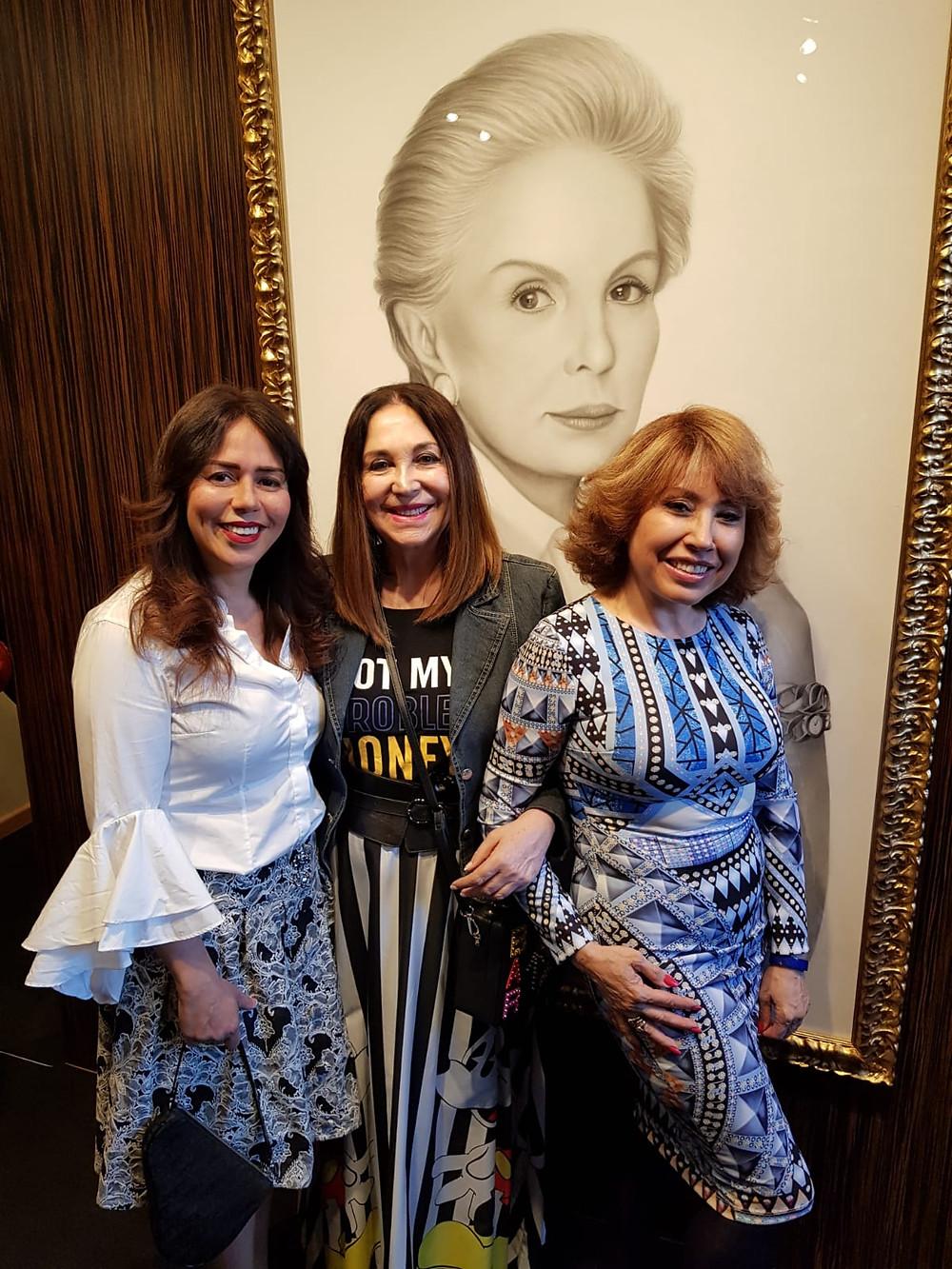 LUCIANA BRITO, LOLA FERNÁNDEZ Y LINA LAVIN
