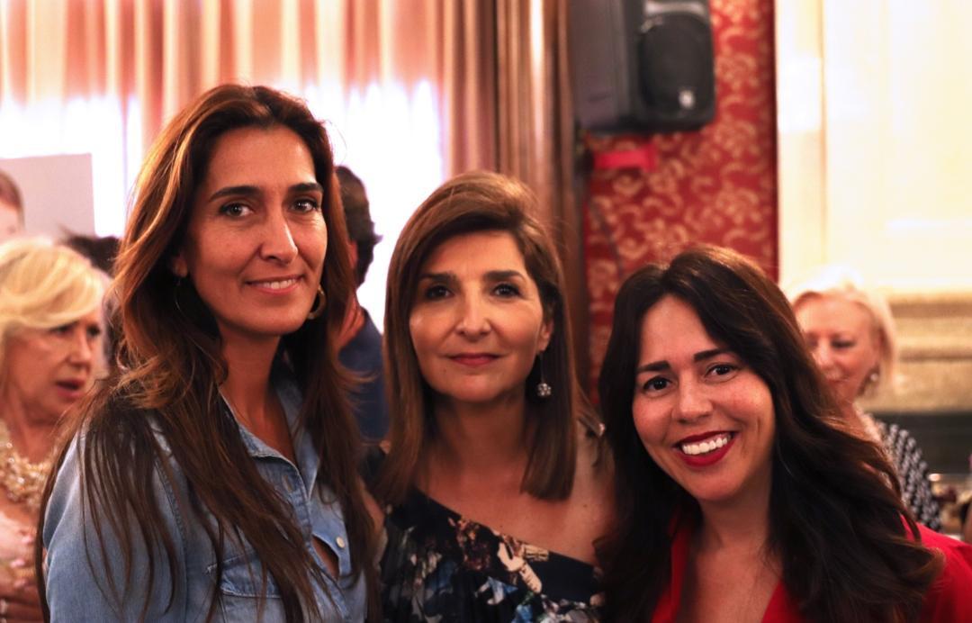 Presen Cosme, Isabel Cosme y Luciana Brito