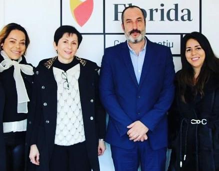 La Fundación BRITO firma el convenio de colaboración con Florida Grup Educatiu.