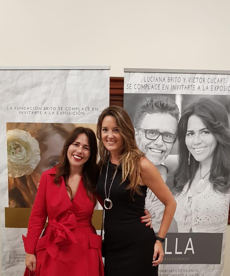 Luciana Brito y Sonia Fernández