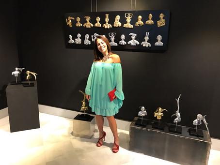 Luciana Brito presente en la Exposición de Bel Borba en Marbella!