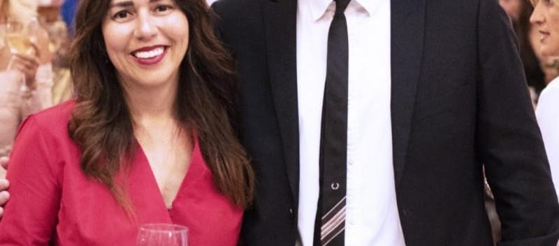 Luciana Brito y Pablo Calatayud