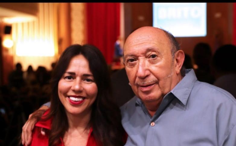 Luciana Brito y Francis Montesinos